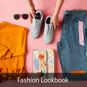 Pink fashion lookbook