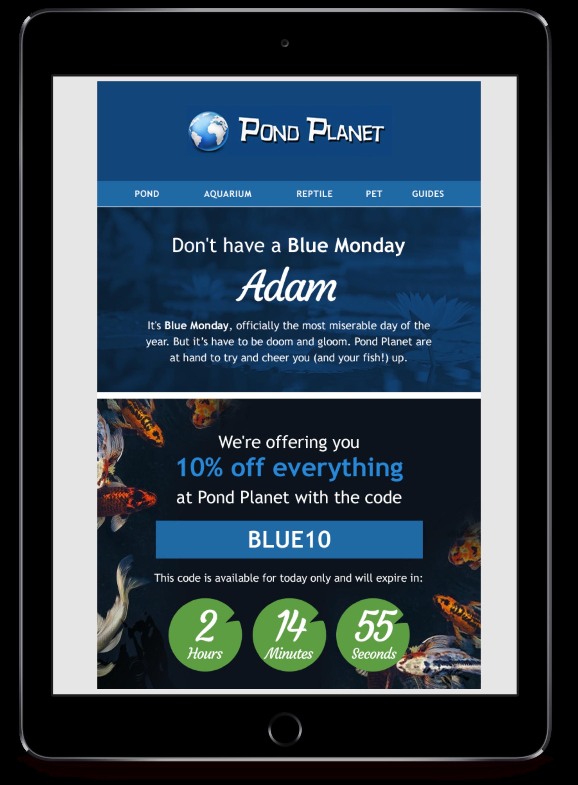 Pond Planet timer